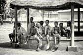 A group of Ghanaian children — Stock Photo