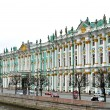 Hermitage Winter Palace from the river side in Saint Petersburg — Stock Photo #12066213