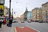 Saint petersburg ana cadde — Stok fotoğraf