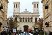 俄罗斯版本的巴黎圣母院巴黎圣彼得斯堡 — 图库照片