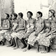 Stock Photo: Group of smily women from Togo