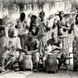 Group of musicians from Togo — Stock Photo