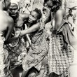 Two ladies from Togo help their friend which loses control under voodoo enchantment — Stock Photo #12074092