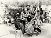 Dance of voodoo by the women from Togo — Stock Photo