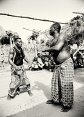 Two men from Togo in a competition — Stock Photo