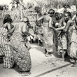 Dance of half naked womfrom Togo — Stock Photo #12081651