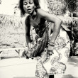 Incredible dance in Togo — Stockfoto