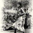 Woman dances in Togo — Stock Photo