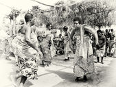 Dancing day in Togo — Stock Photo