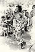 Danses de la femme au togo — Photo