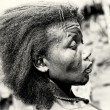 Profile of a woman from Togo — Foto de Stock