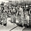 Group of from Togo dances — Foto de Stock