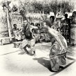 Rare dance from Togo — Stock Photo #12110710