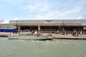 Railway station of Venice, Italy — Stock Photo