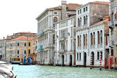 Building on the water in Venice, Italy — Stock Photo