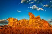 Mountain of Madagascar on the blue sky — Stock Photo