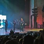 ������, ������: Filipp Kirkorov Russian pop singer performs on the stage in Ukraine