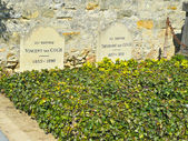 Tomb of Van Gogh brothers in Auvers-sur-Oise, France — Stock Photo