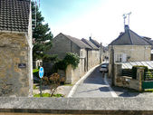 Street of Auvers-sur-Oise, France — Stock Photo
