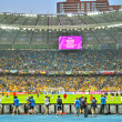 National Olympic stadium of Ukraine before the football match of EURO 2012 Italy against England in Kiev - Foto Stock