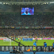 ������, ������: Mario Balotelli is ready to score his penalty during the football match of EURO 2012 Italy against England in Kiev