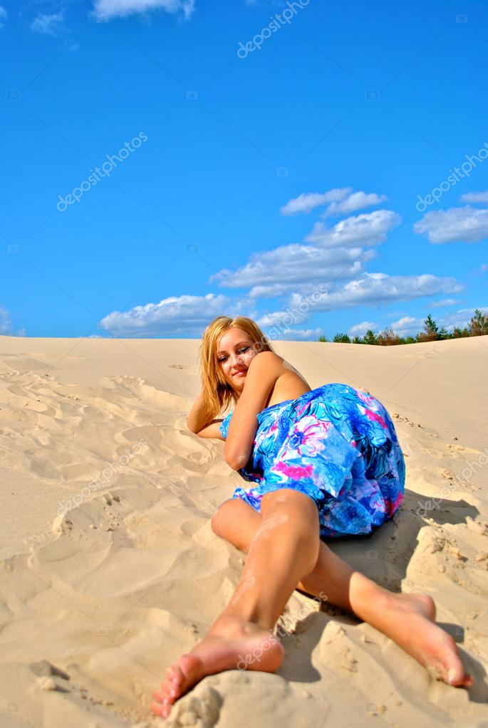 Girls At The Sand Dunes