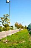 Green road in Ukraine — Stock Photo