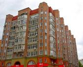 大厦在利沃夫,乌克兰 — 图库照片