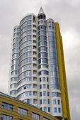 Modern building in Dnipropetrovsk, Ukraine — Stock Photo