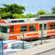 Train in Lugano, Switzerland — Stock Photo #12632158