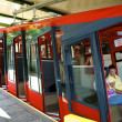 Stock Photo: Swiss funicular