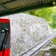 Stock Photo: Funicular ways