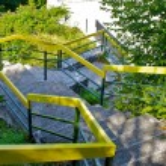 Round stairs — Stock Photo