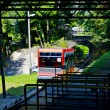 Stock Photo: Funicular in Switzerland