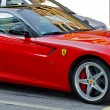 Red sports car — Stock Photo #12666016