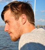 Hombre joven — Foto de Stock