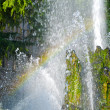 Stock Photo: Rainbow in a fountain