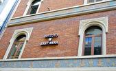 Santa Anna institute in Switzerland — Zdjęcie stockowe