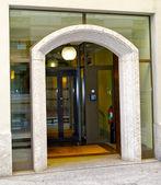 Glass door — Stock Photo