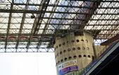 Torre del estadio san siro o giuseppe meazza de Milán — Foto de Stock