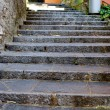 Old stone stairs — Stock Photo