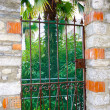 Stock Photo: Metal gates