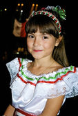 Little girl from Mexico — Stock Photo