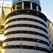 Tower of the Santiago Bernabeu stadium — Stock Photo