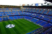 Santiago Bernabeu stadium before the game — Stock Photo