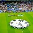 Champions League anthem - Stock Photo