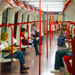 In the beautiful metro of Madrid - Stock Photo
