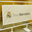 Real Madrid tour — Stock Photo