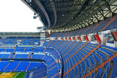 Santiago Bernabeu stadium — Stock Photo