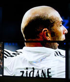 Zidane, part of the Real Madrid history — Stock Photo